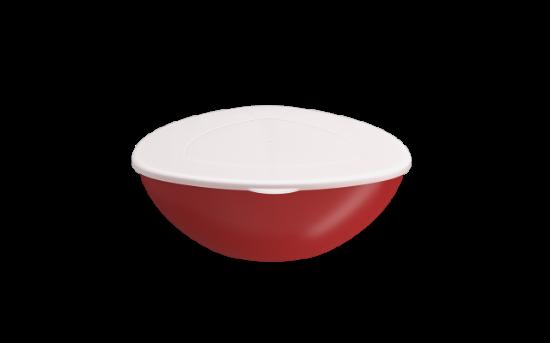 Afbeeldingen van COZA SALADESCHAAL M/DEKSEL ESSENTIAL 2.5L RED BOLD