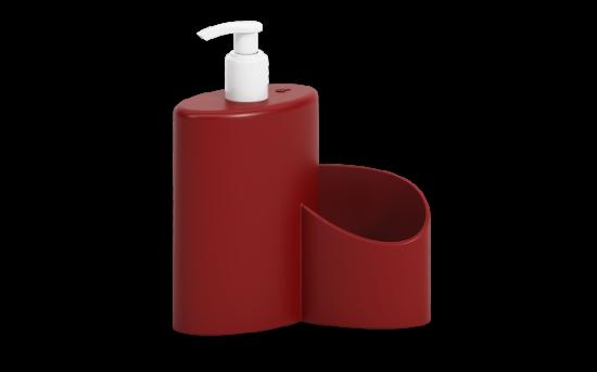 Afbeeldingen van COZA ZEEPDISPENSER 600ML BOLD RED