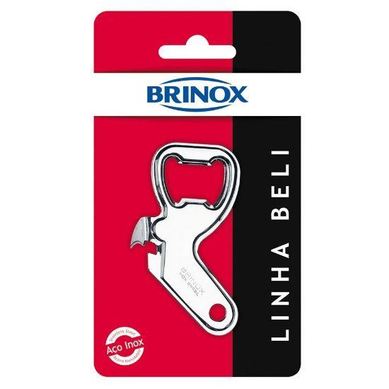 Afbeeldingen van BRINOX BLIK EN FLES OPENER 9.0CM BELI LINE