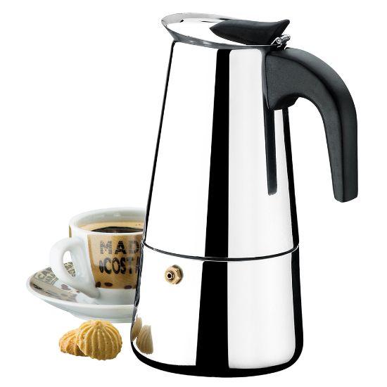 Afbeeldingen van BRINOX COFFEE POT 300ML 6CUPS VERONA
